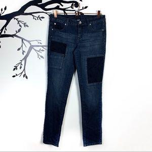 Justice Premium Girl's Husky Plus Distressed Jeans